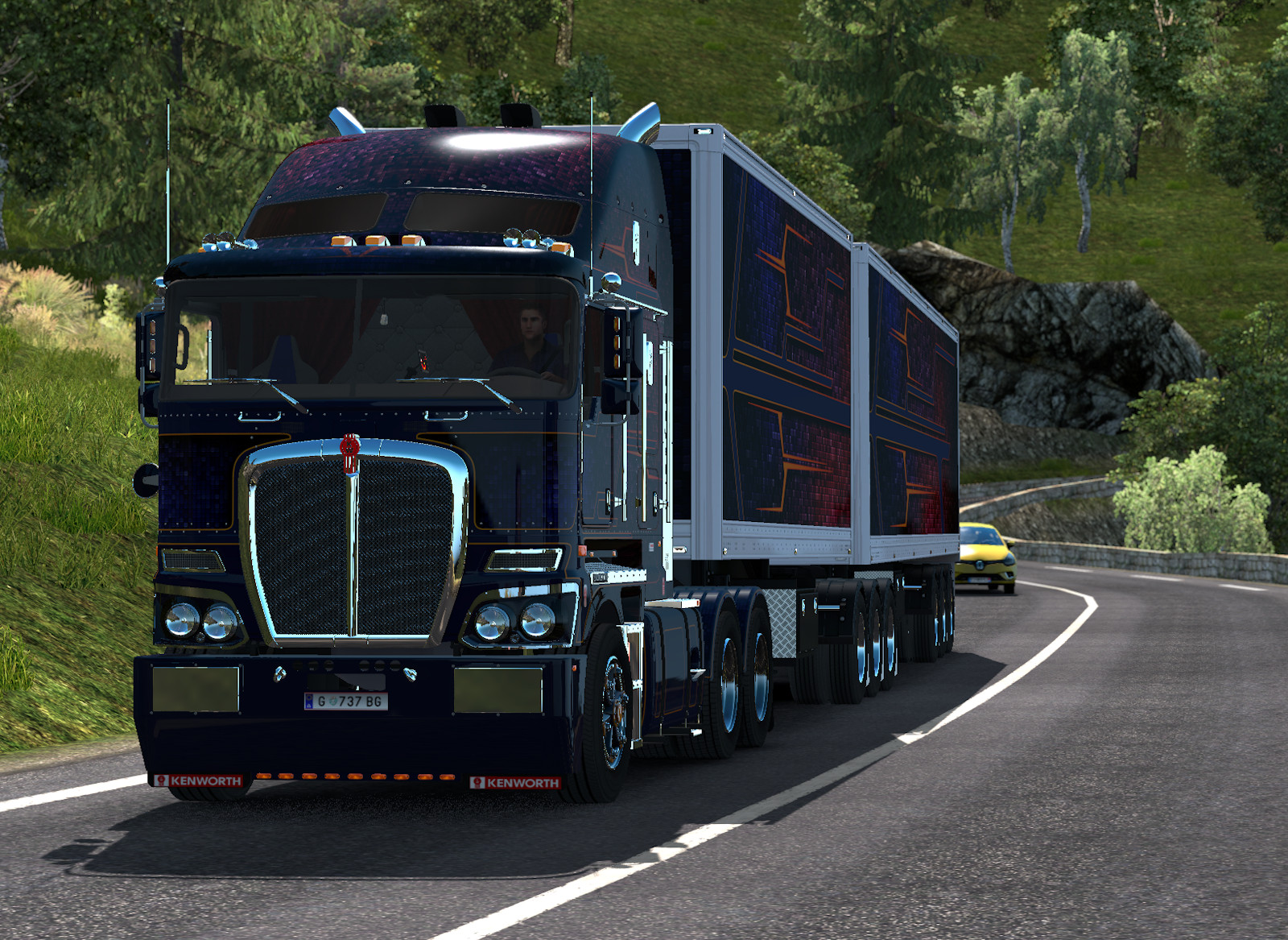 Ruby Cubes Kenworth K200 plus Vawdrey Trailers