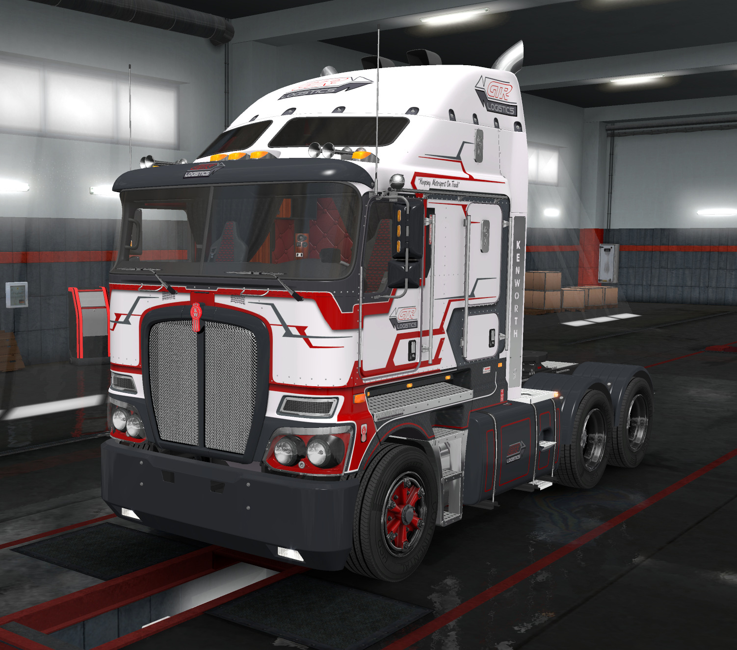 GTR Logistics Kenworth K200